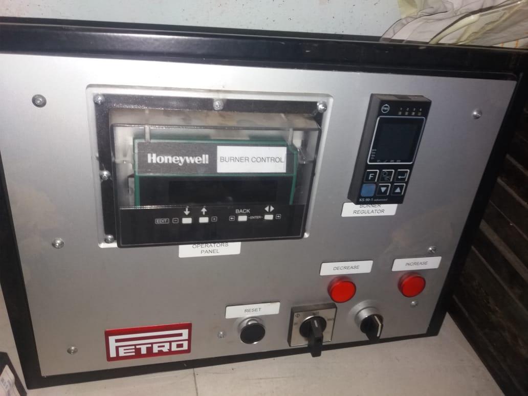 Honeywell Burner control
